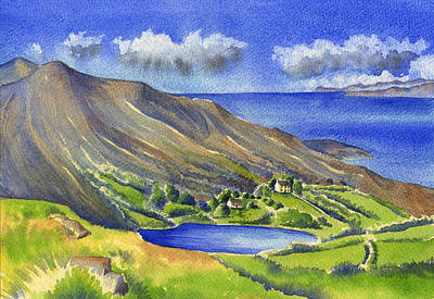 Painting - Glanlough by Kate Shannon