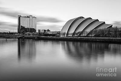 With Photograph - Glasgow Armadillo by John Farnan