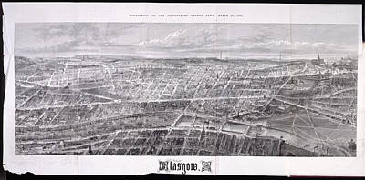 New Glasgow Photograph - Glasgow by British Library