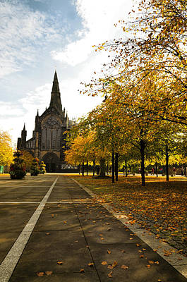Photograph - Glasgow Cathedral by Jean-Noel Nicolas
