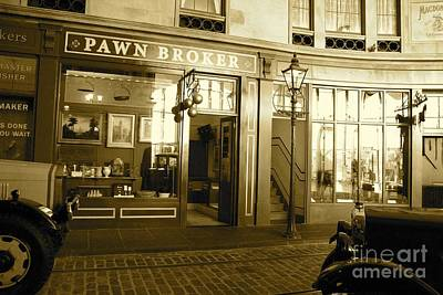 Photograph - Glasgow Pawn Broker by David Grant