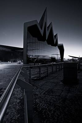 Photograph - Glasgow Riverside Museum by Stephen Taylor
