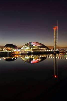 Photograph - Glasgow Science Centre by Grant Glendinning