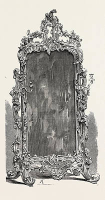 Herring Drawing - Glass, 1851 Engraving by Messrs. Herring And Son, English School