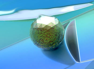 Digital Art - Glass #2_p_300_36x26 by Stephen Donoho