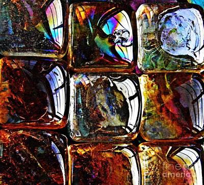 Glass Abstract 12 Art Print