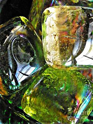 Photograph - Glass Abstract 133 by Sarah Loft