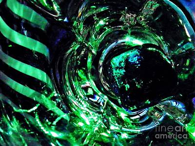 Photograph - Glass Abstract 143 by Sarah Loft