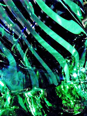 Photograph - Glass Abstract 144 by Sarah Loft