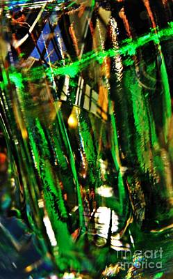 Photograph - Glass Abstract 149 by Sarah Loft