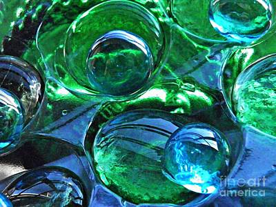 Photograph - Glass Abstract 172 by Sarah Loft