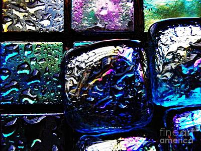 Photograph - Glass Abstract 19 by Sarah Loft