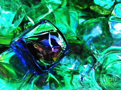 Photograph - Glass Abstract 196 by Sarah Loft