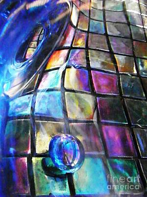 Glass Abstract 239 Art Print
