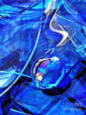 Glass Abstract 247 Original by Sarah Loft