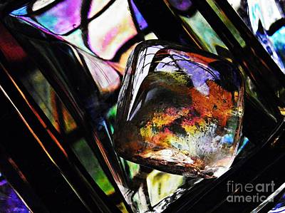 Glass Abstract 314 Original by Sarah Loft