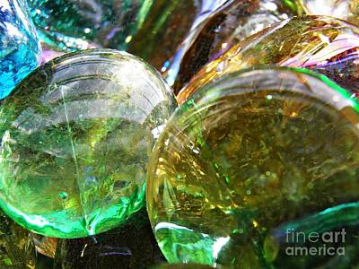 Photograph - Glass Abstract 427 by Sarah Loft