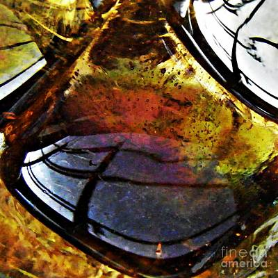 Photograph - Glass Abstract 43 by Sarah Loft