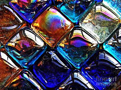 Photograph - Glass Abstract 44 by Sarah Loft