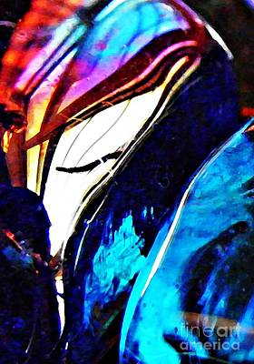 Photograph - Glass Abstract 45 by Sarah Loft