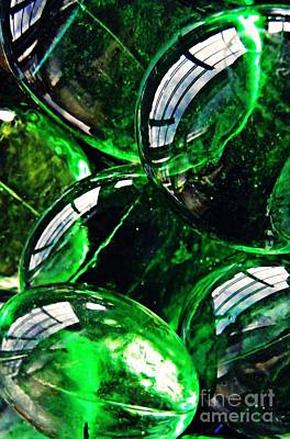 Photograph - Glass Abstract 48 by Sarah Loft