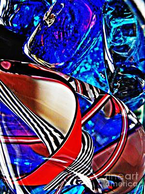 504 Photograph - Glass Abstract 504 by Sarah Loft