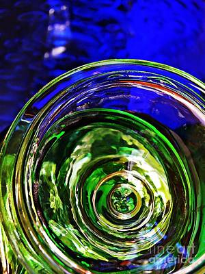 Photograph - Glass Abstract 576 by Sarah Loft