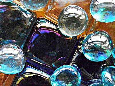 Photograph - Glass Abstract 62 by Sarah Loft