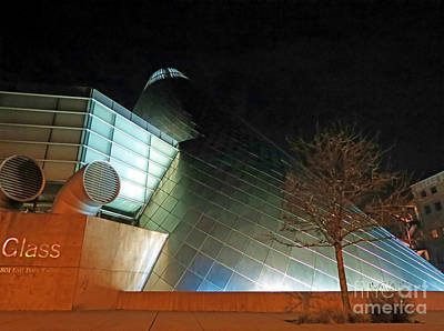 Photograph - Glass After Dark by Chris Anderson