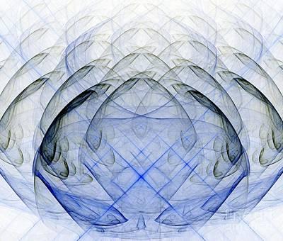 Unreal Digital Art - Glass And Smoke by Yali Shi