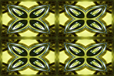 Glass Art 01 Print by Ester  Rogers