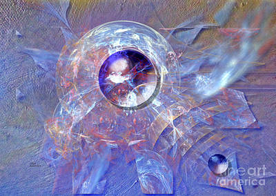 Digital Art - Glass Ball by Alexa Szlavics