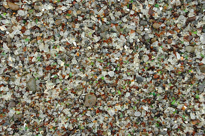 Photograph - Glass Beach by Donna Blackhall