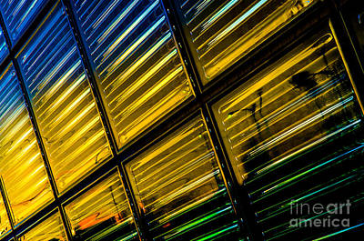 Photograph - Glass Block Window by Michael Arend