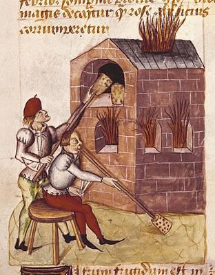 Glass Blower. Illustration Of Tractatus Art Print by Everett