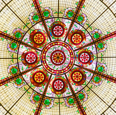 Art Print featuring the photograph Glass Dome by Val Miller