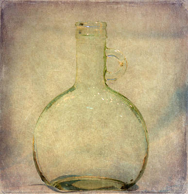 Photograph - Glass From The Past by Angie Vogel