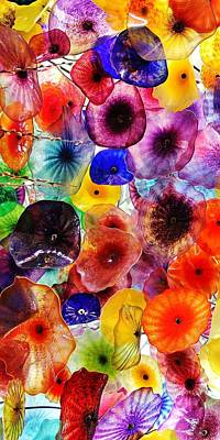 Photograph - Glass Garden 1 Of 3 by Benjamin Yeager