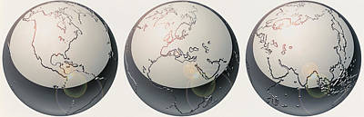 Trio Photograph - Glass Globes by Panoramic Images