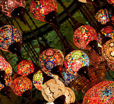 Photograph - Glass Lanterns 02 by Rick Piper Photography