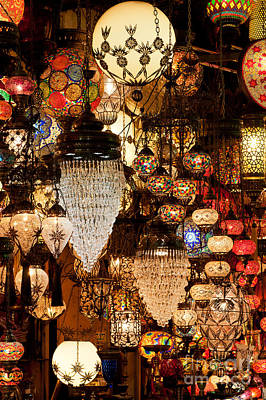 Photograph - Glass Lanterns 07 by Rick Piper Photography