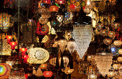 Photograph - Glass Lanterns 08 by Rick Piper Photography