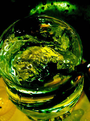 Photograph - Glass Of Water And Spoon by Florin Birjoveanu