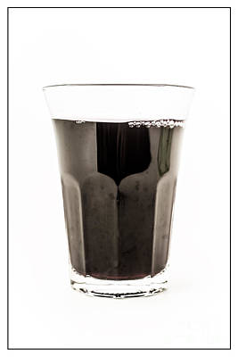 Photograph - Glass Of Wine by Edward Fielding