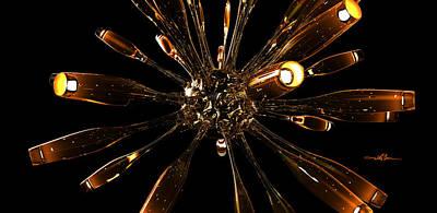 Pop Art - Glass Organism Hot by William Ladson