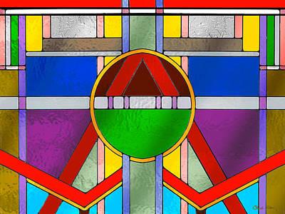 Digital Art - Glass Pattern 4 by Chuck Staley