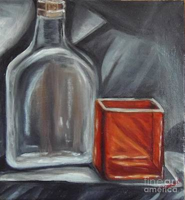 Painting - Glass Reflections by Isabel Honkonen