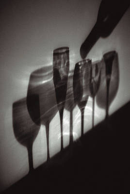 Photograph - Glass Shadows by Matthew Pace