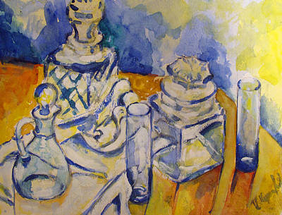 Painting - Glass by Vladimir Kezerashvili