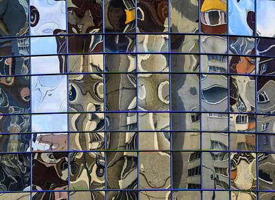 Photograph - Glass Wall by Vladimir Kholostykh